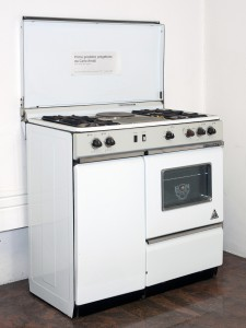 The cooker Fratelli Onofri model 29, the first product designed by Carlo Amati in July 1961.