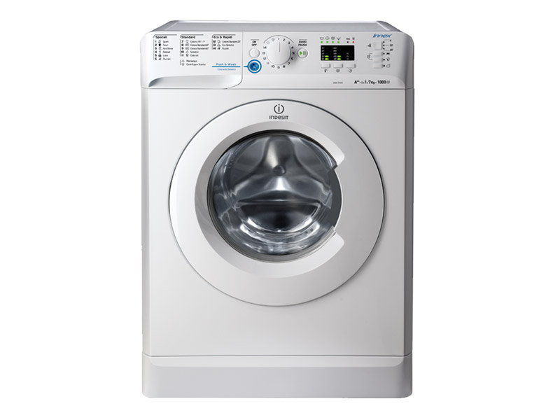 Indesit washing machine of the latest generation, the design of which meets the criteria of the technological platform, from a parent product.