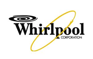 logo Whirlpool sfondo bianco