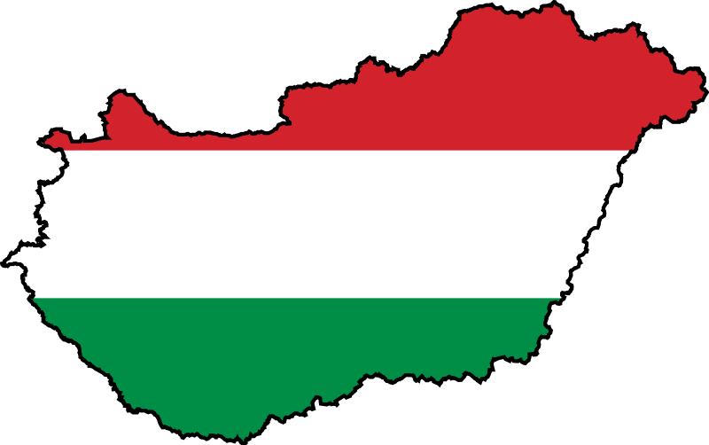 Hungary_flag_map