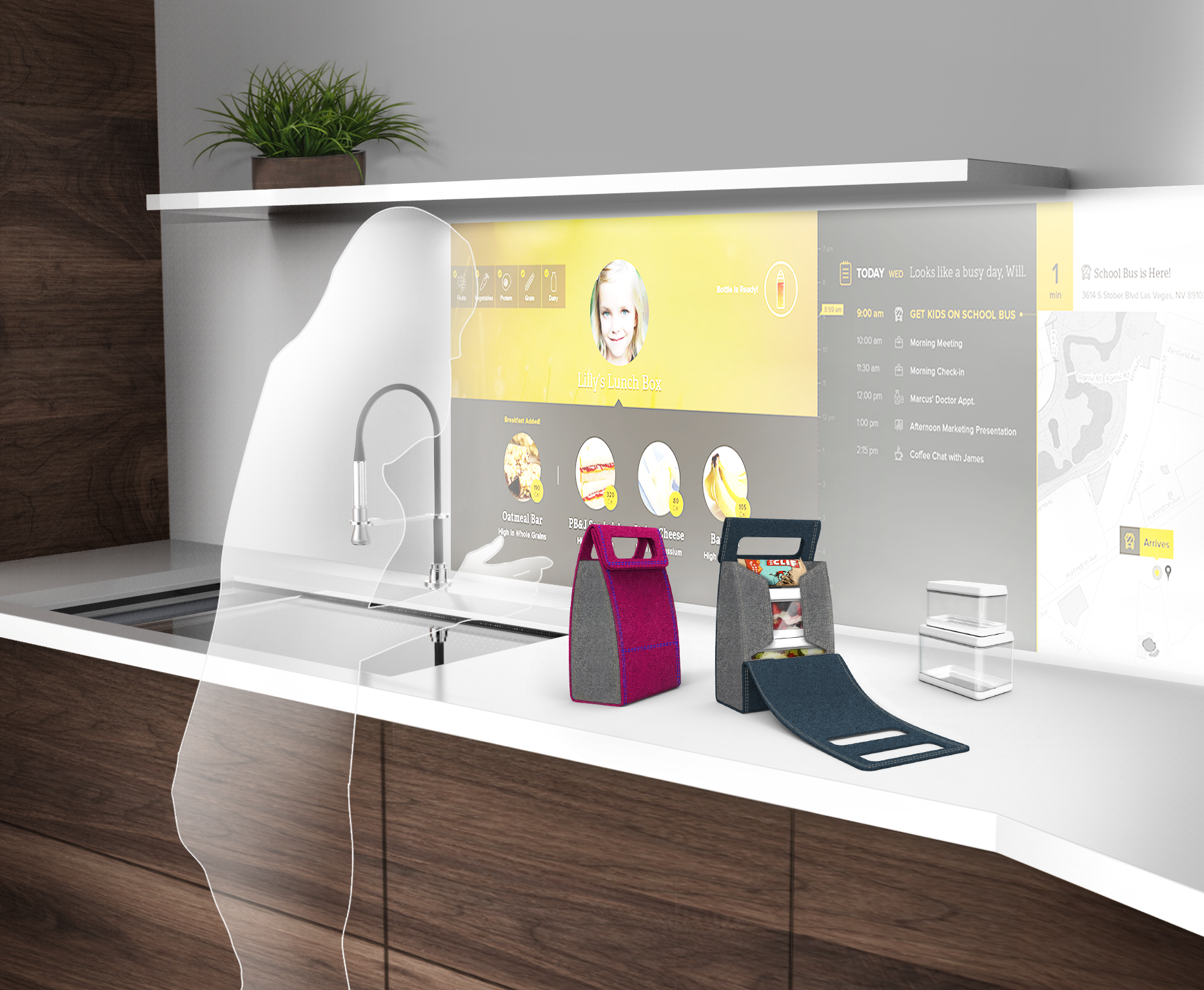 Whirlpool showcases the Interactive Kitchen of the Future at