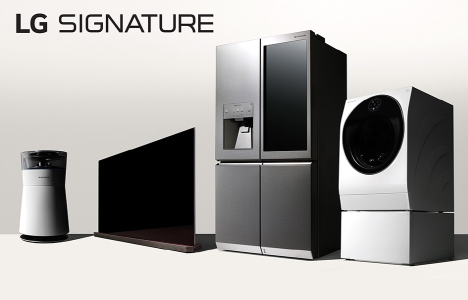 Lg launches in europe lg signature ha household for European appliance brands