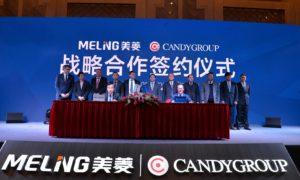 Strategic agreement between Candy Group and Meiling