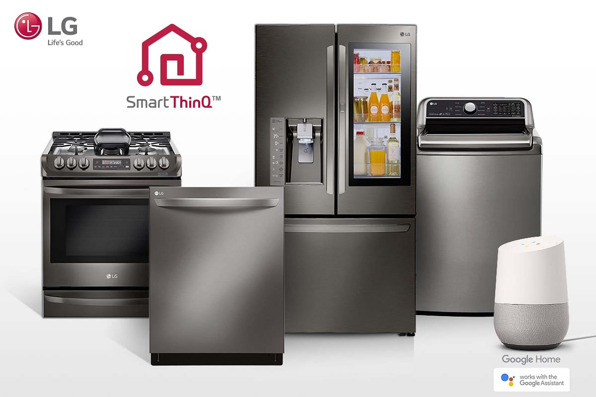 LG: 87 appliances compatible with Google Assistant - HA Household ...